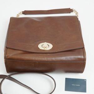 NWT Cole Haan Leather Crossbody Handbag Purse